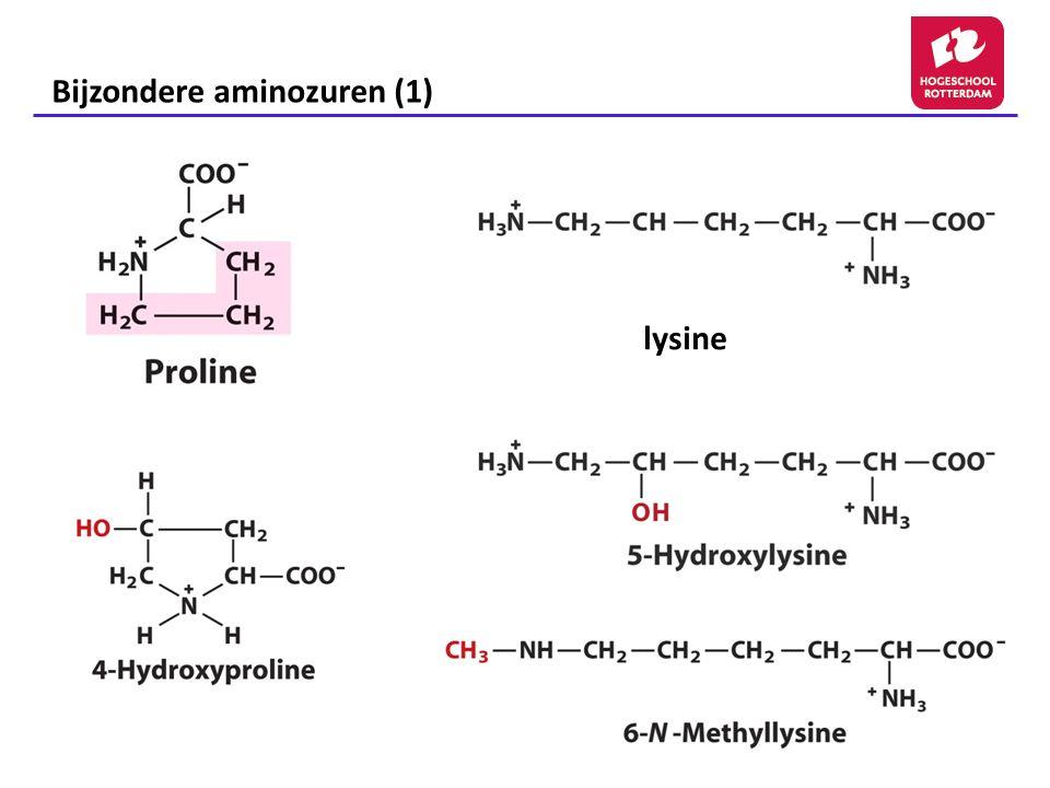 Bijzondere aminozuren (1)