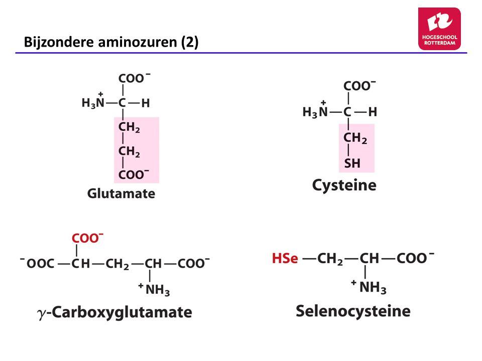 Bijzondere aminozuren (2)
