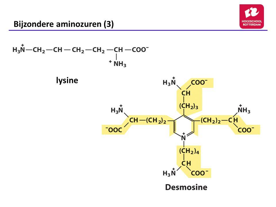 Bijzondere aminozuren (3)