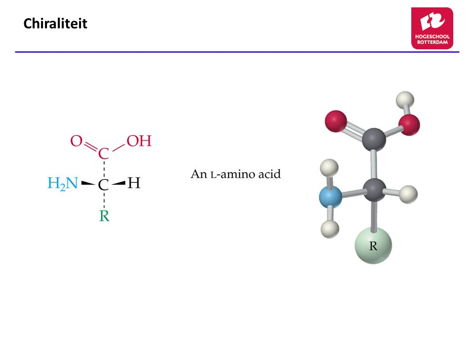 Chiraliteit Figure: 24-04-01UN Title: Chiral Amino Acids Caption: