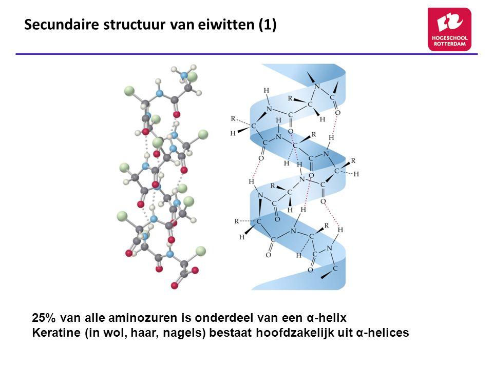 Secundaire structuur van eiwitten (1)