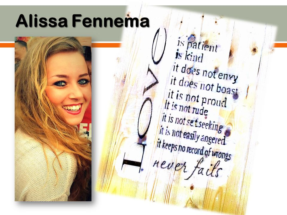 Alissa Fennema