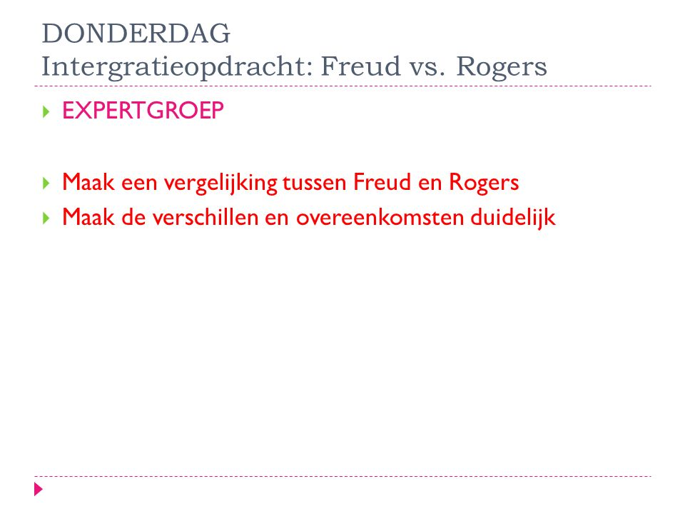 Freud vs rogers