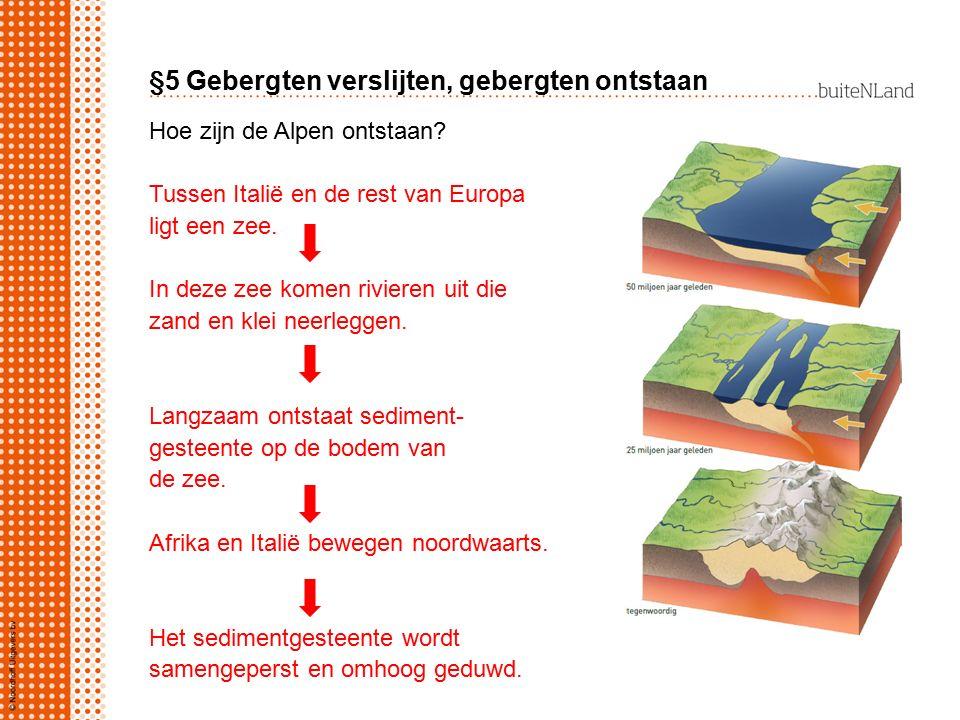 §5 Gebergten verslijten, gebergten ontstaan