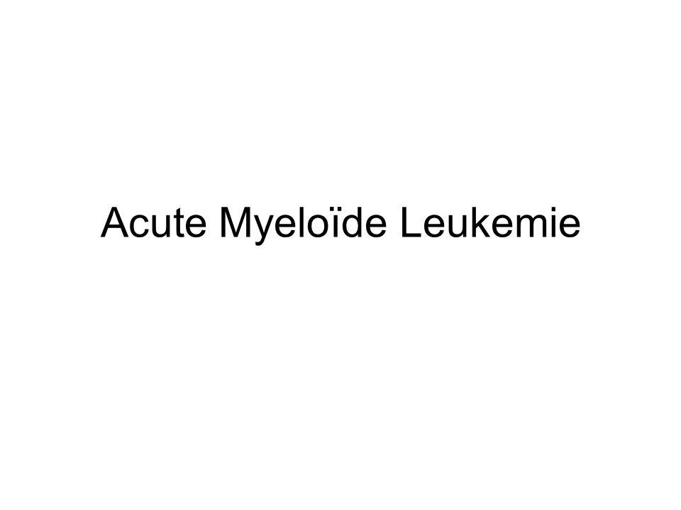 Acute Myeloïde Leukemie