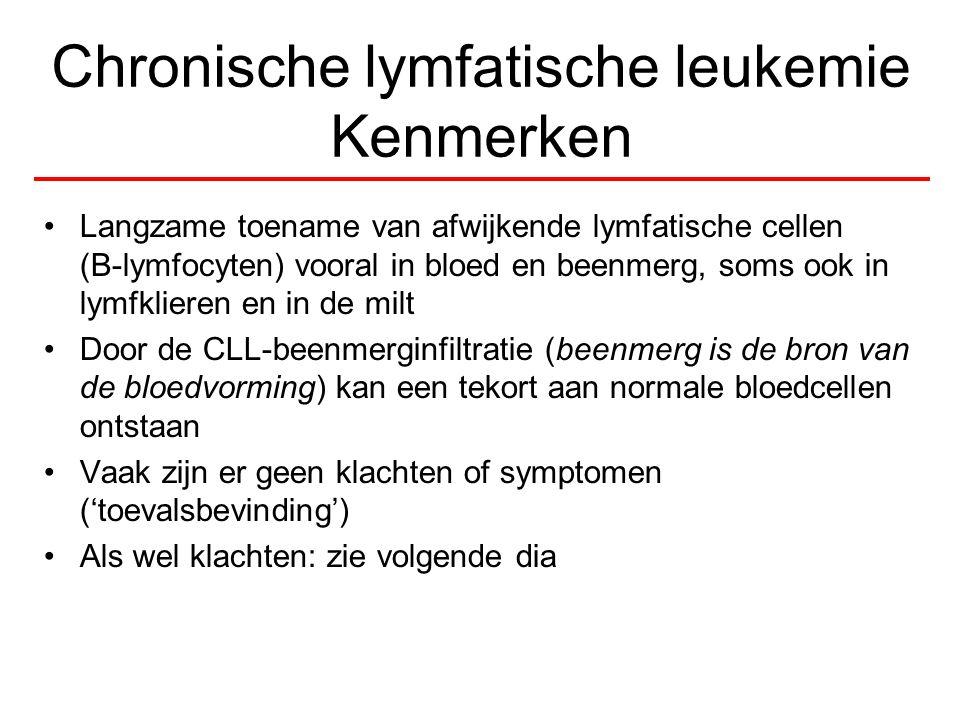 Chronische lymfatische leukemie Kenmerken