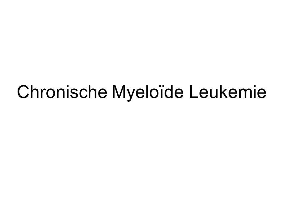 Chronische Myeloïde Leukemie