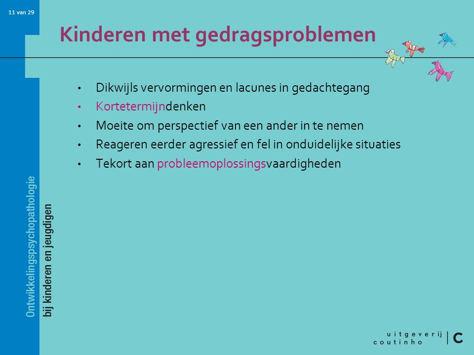 Kinderen met gedragsproblemen