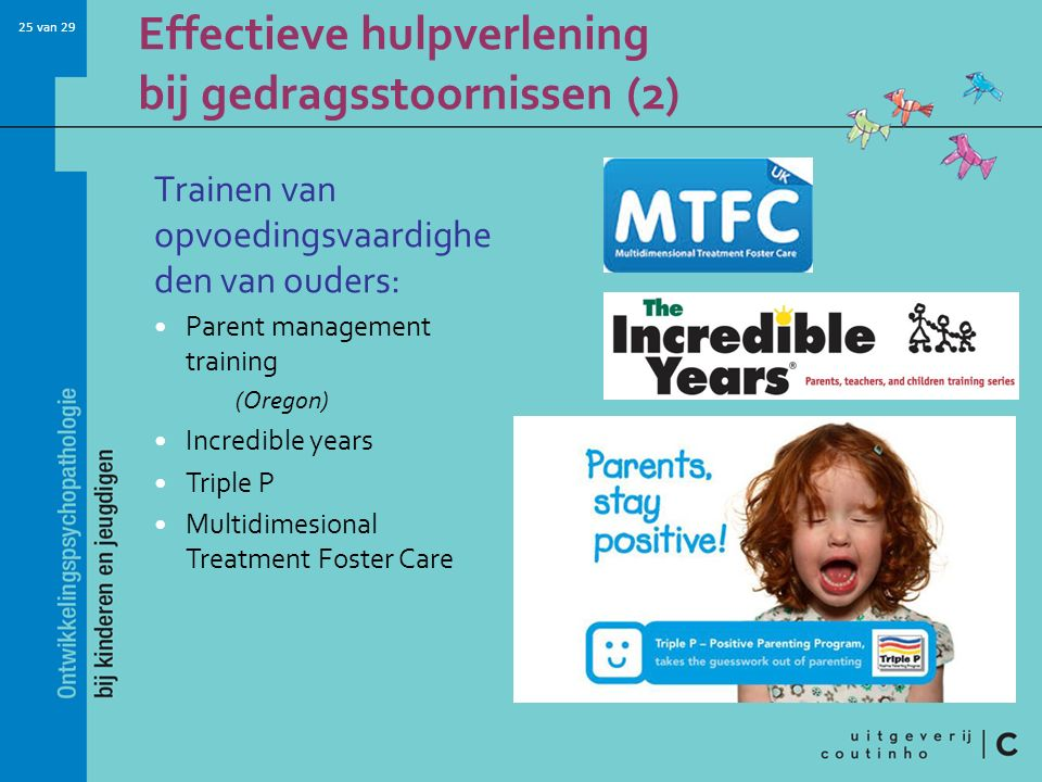 Effectieve hulpverlening bij gedragsstoornissen (2)
