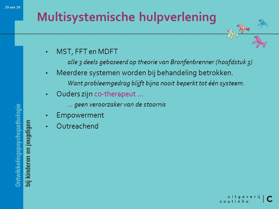 Multisystemische hulpverlening