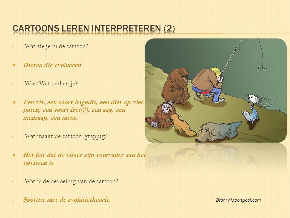 Cartoons leren interpreteren (2)