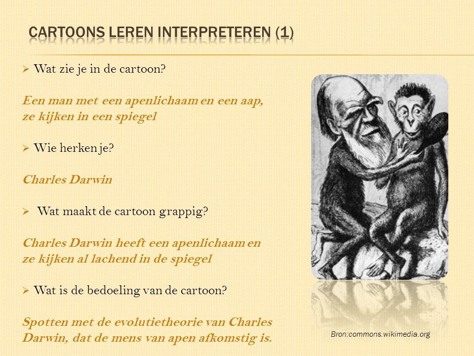 Cartoons leren interpreteren (1)