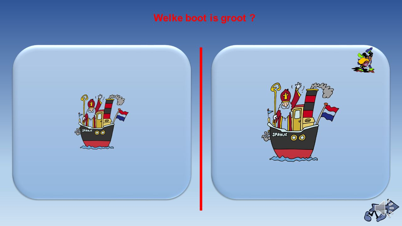 Welke boot is groot
