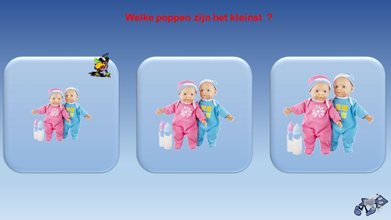 Welke poppen zijn het kleinst