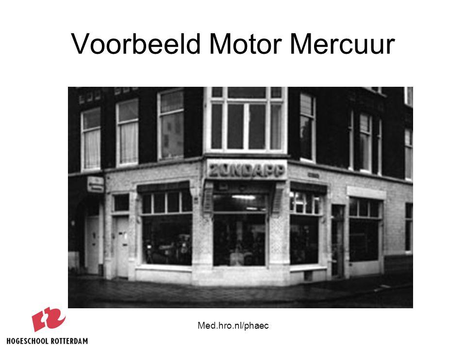 Voorbeeld Motor Mercuur