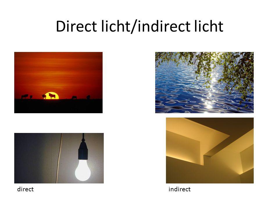 Direct licht/indirect licht