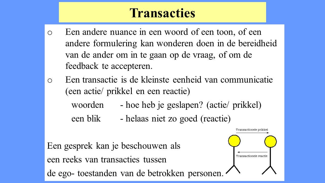 Transacties