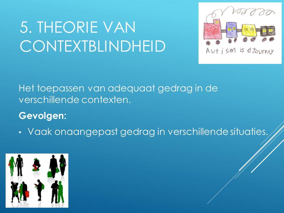 5. Theorie van Contextblindheid
