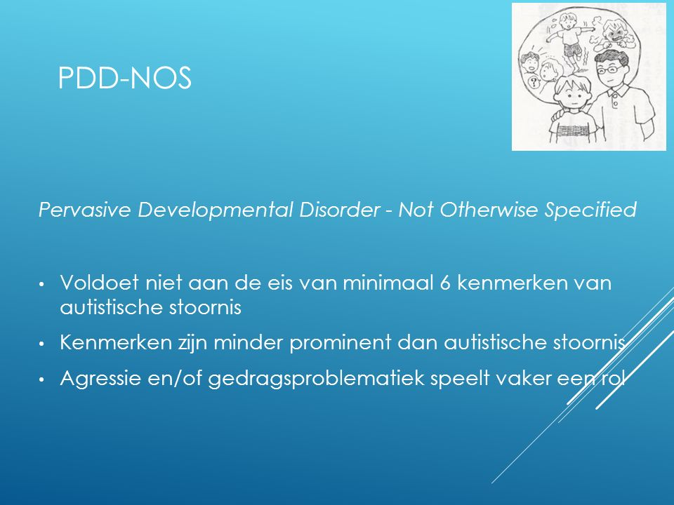 PDD-NOS Pervasive Developmental Disorder - Not Otherwise Specified