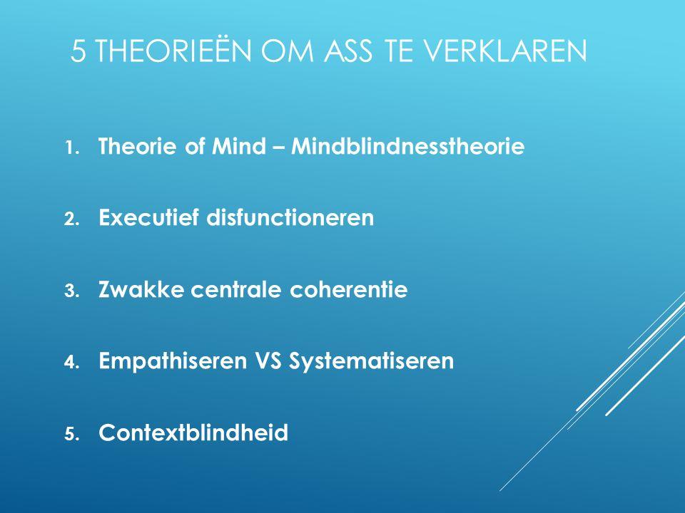 5 Theorieën om ASS te verklaren