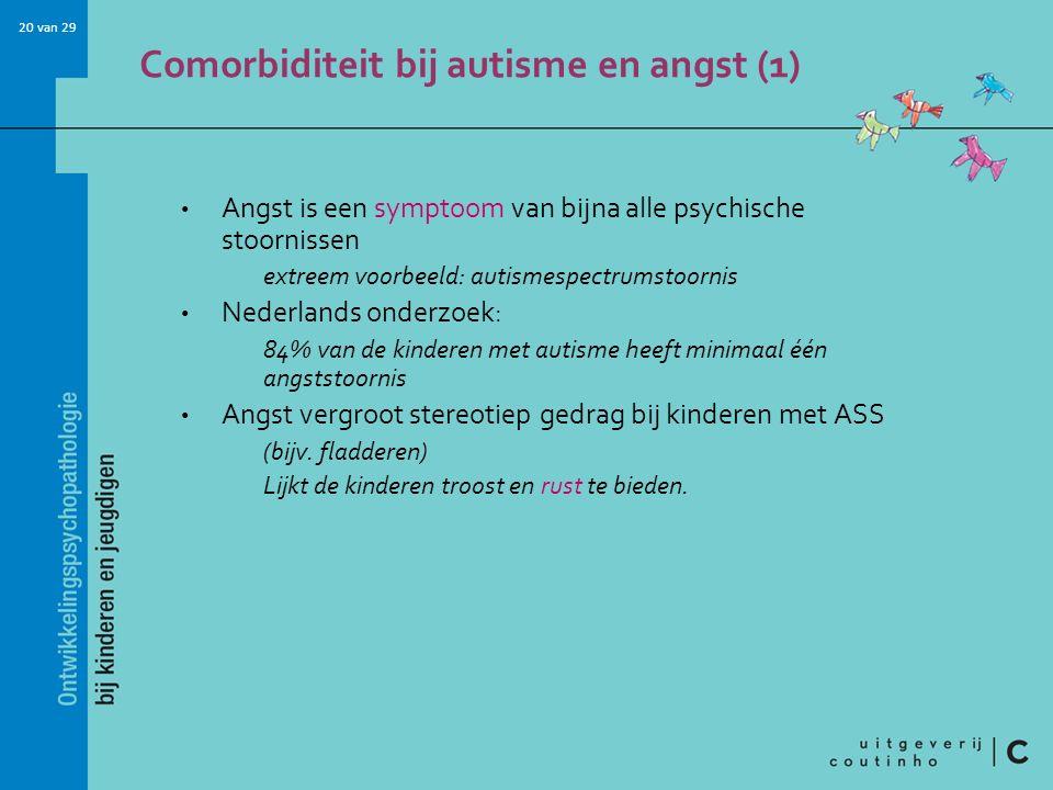 Comorbiditeit bij autisme en angst (1)