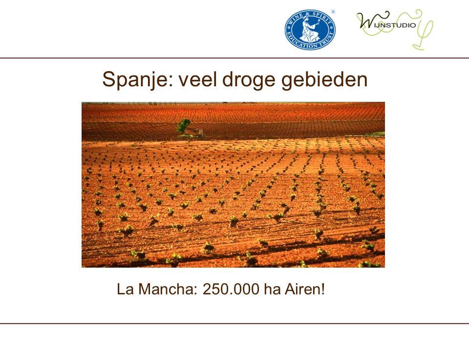 Spanje: veel droge gebieden