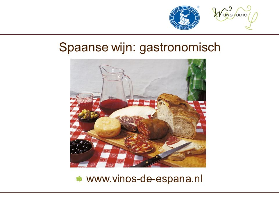 Spaanse wijn: gastronomisch
