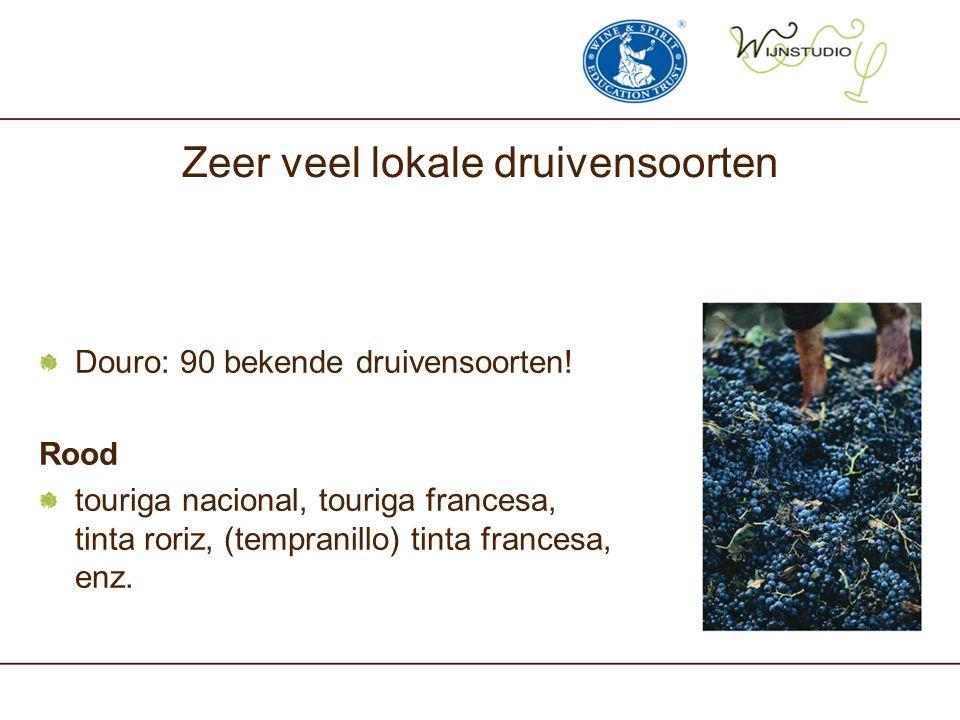 Zeer veel lokale druivensoorten