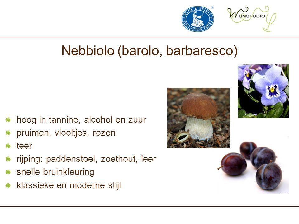 Nebbiolo (barolo, barbaresco)