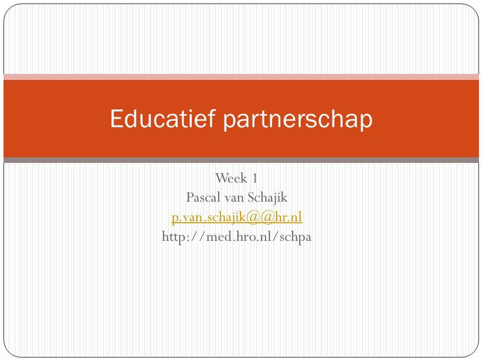 Educatief partnerschap