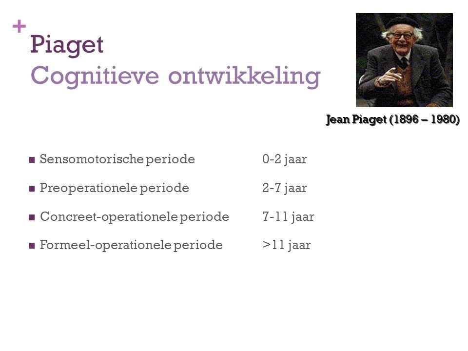 Piaget Cognitieve ontwikkeling