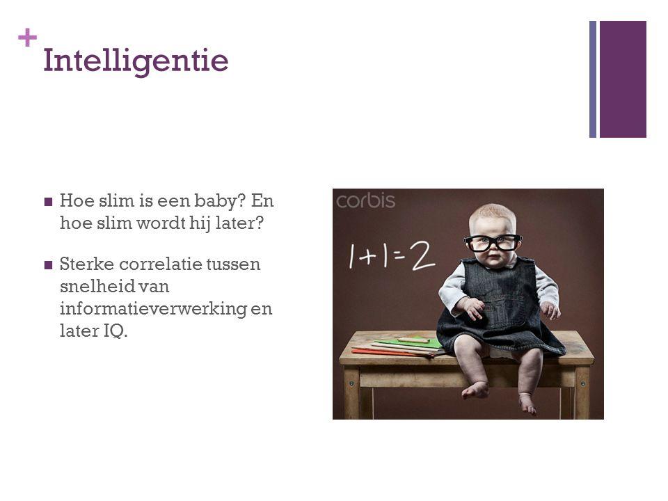 Intelligentie Hoe slim is een baby En hoe slim wordt hij later