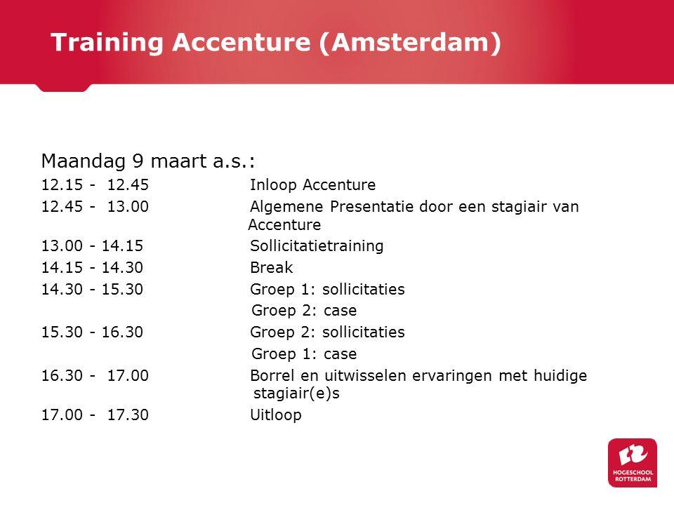 Training Accenture (Amsterdam)