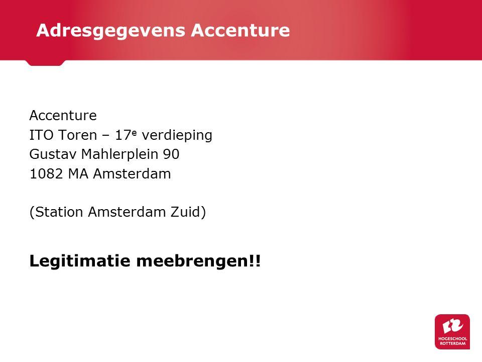 Adresgegevens Accenture