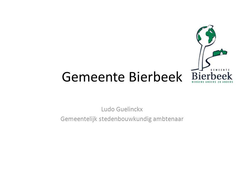 Ludo Guelinckx Gemeentelijk stedenbouwkundig ambtenaar