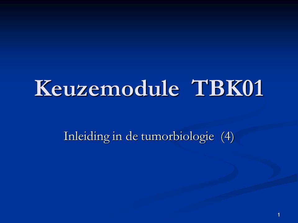 Inleiding in de tumorbiologie (4)