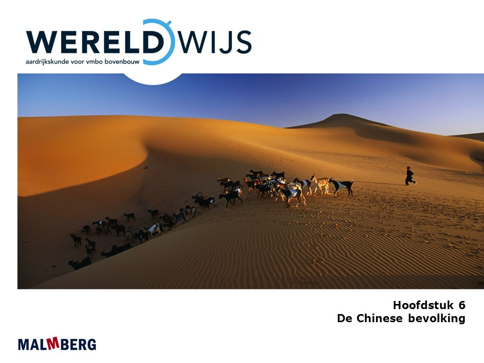 Hoofdstuk 6 De Chinese bevolking