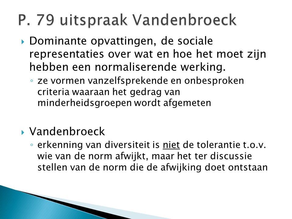 P. 79 uitspraak Vandenbroeck