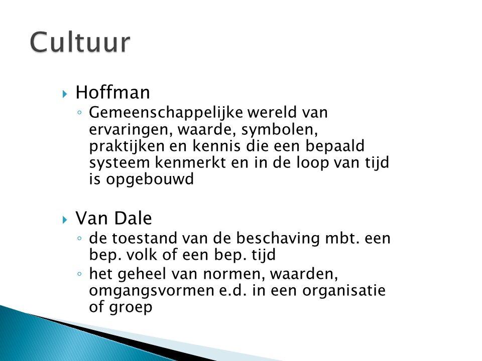 Cultuur Hoffman Van Dale
