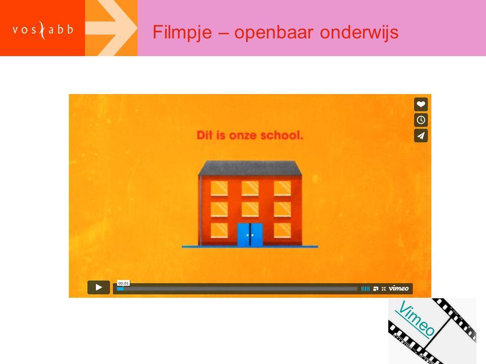 Filmpje – openbaar onderwijs