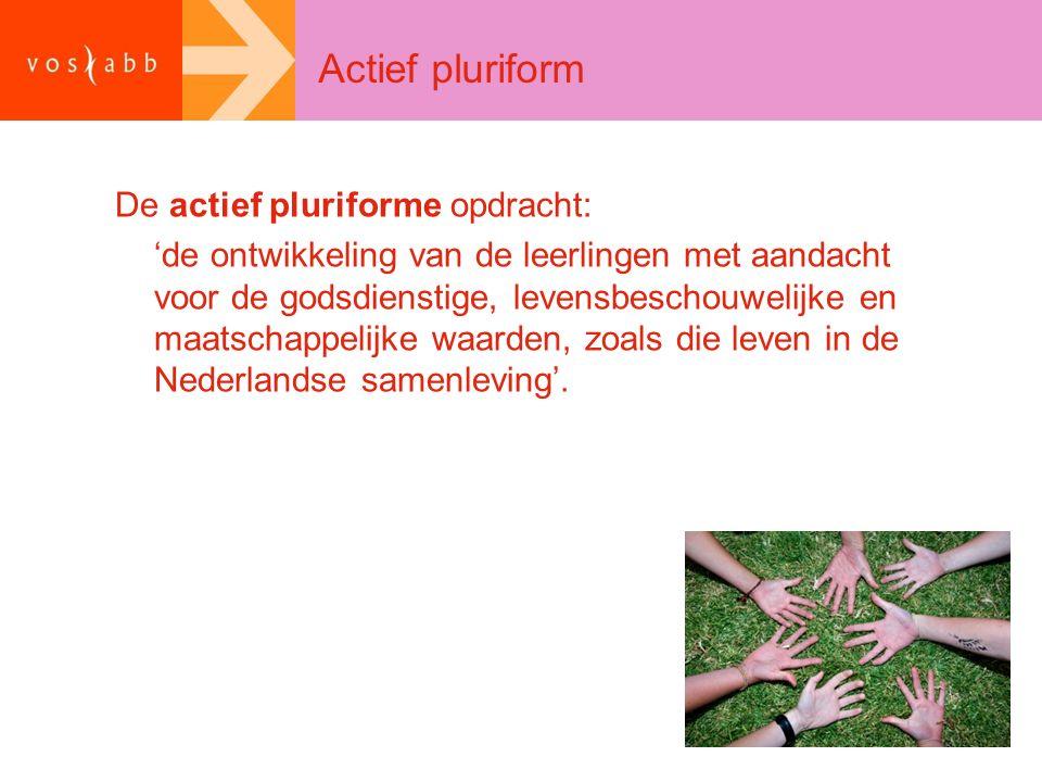 Actief pluriform