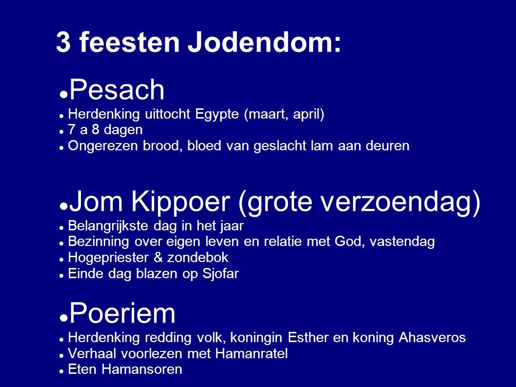 Jom Kippoer (grote verzoendag)
