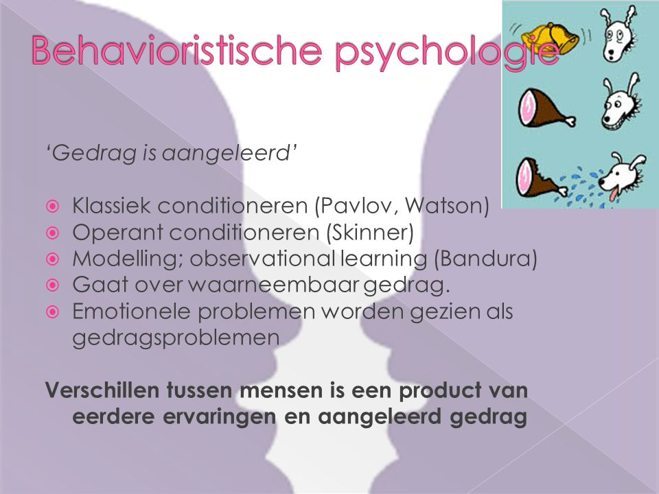 Behavioristische psychologie