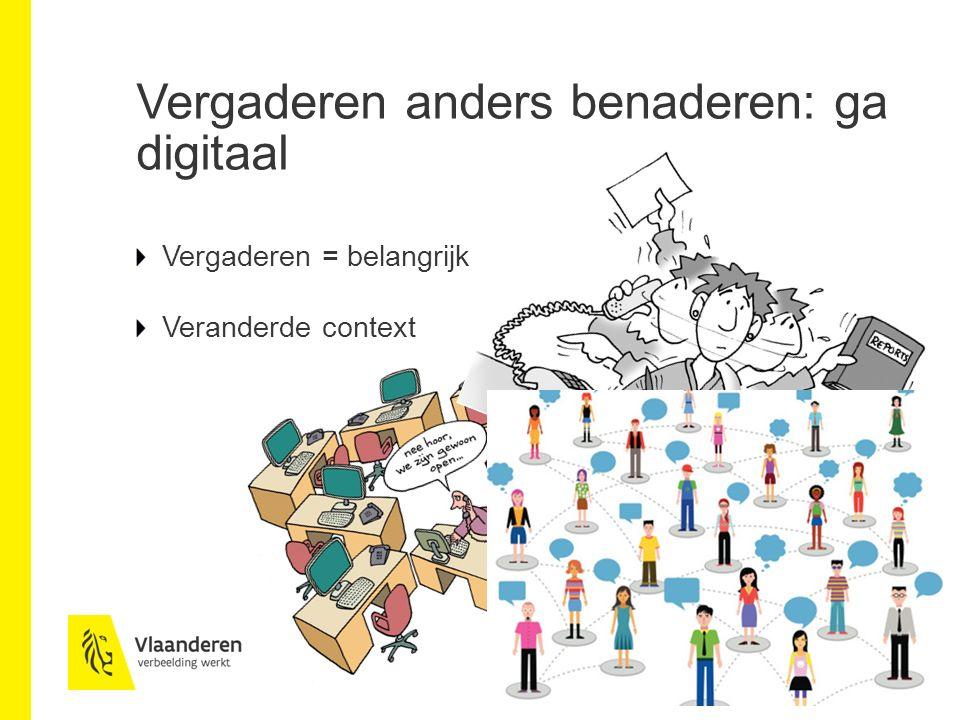 Vergaderen anders benaderen: ga digitaal