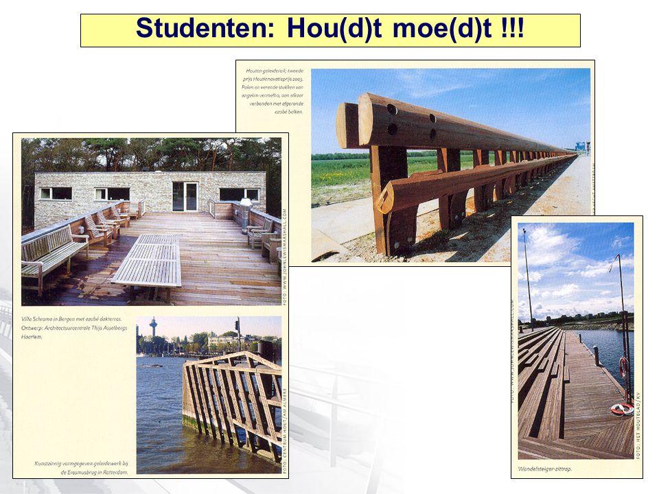 Studenten: Hou(d)t moe(d)t !!!