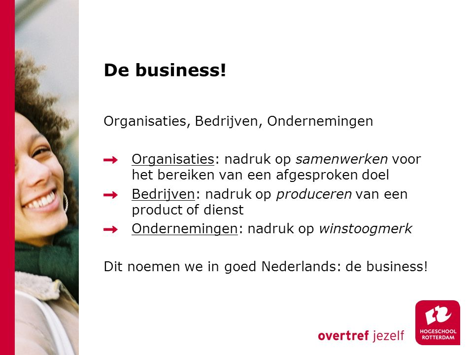 De business! Organisaties, Bedrijven, Ondernemingen