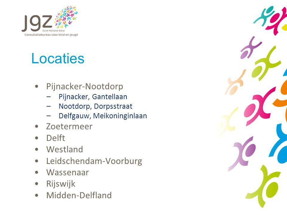 Locaties Pijnacker-Nootdorp Zoetermeer Delft Westland