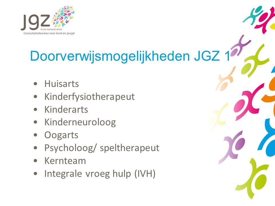 Doorverwijsmogelijkheden JGZ 1