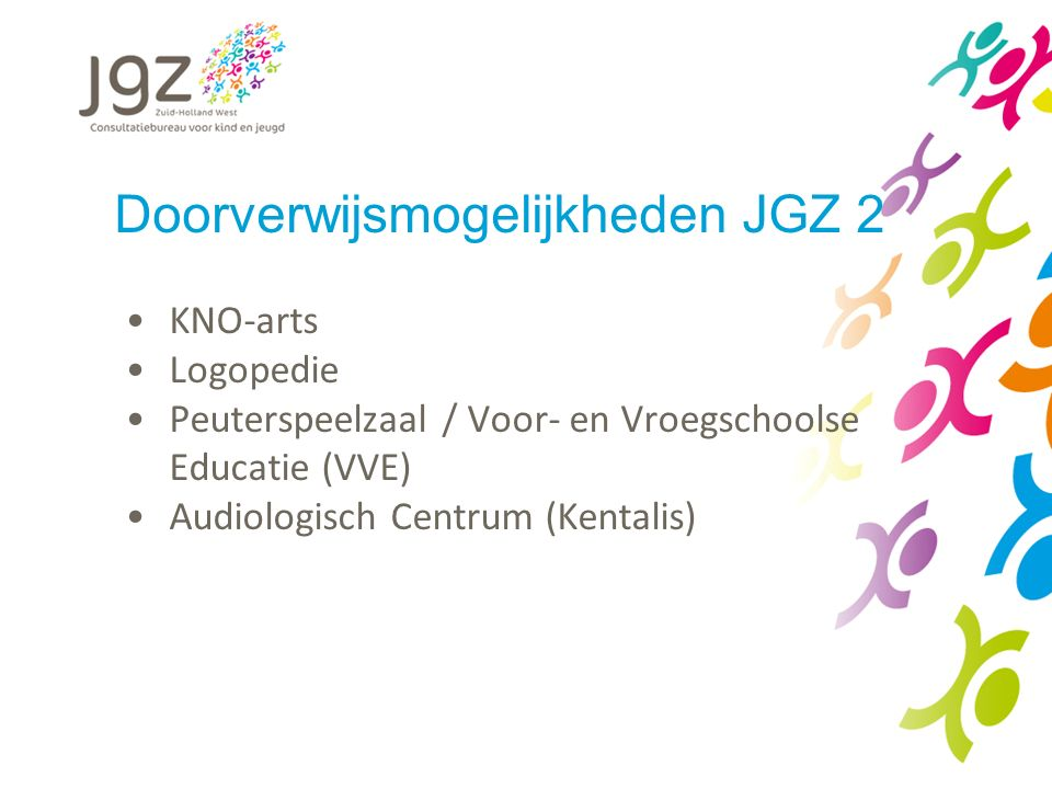 Doorverwijsmogelijkheden JGZ 2