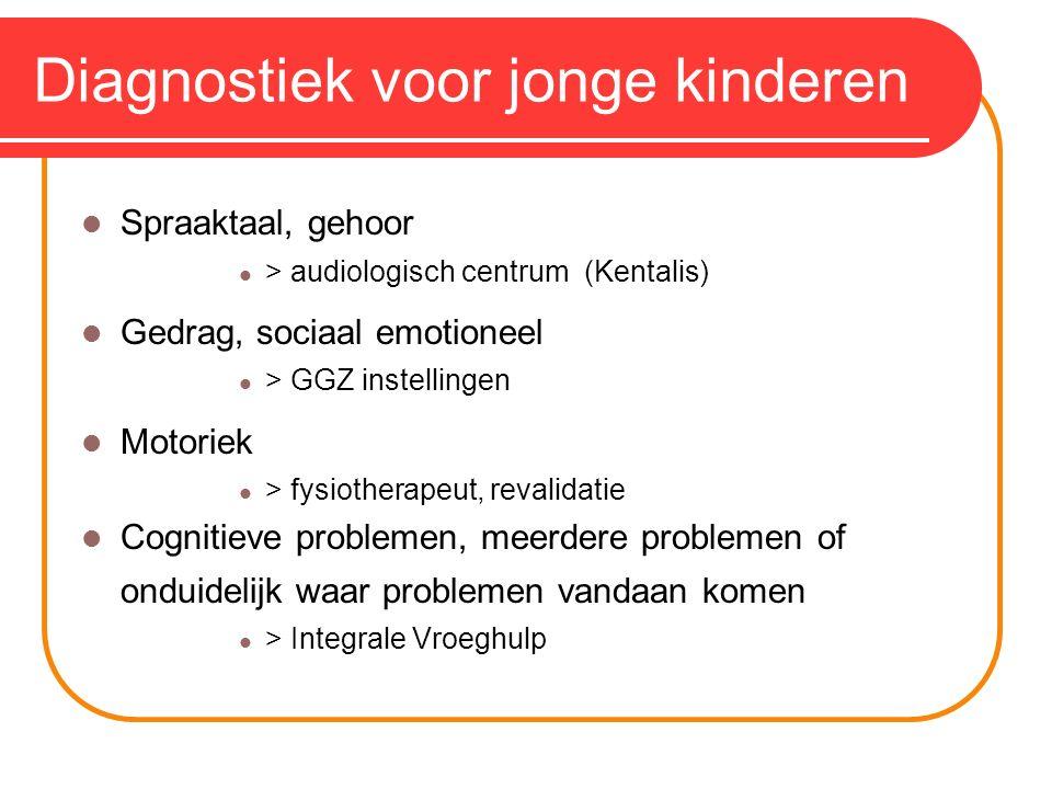 Diagnostiek voor jonge kinderen
